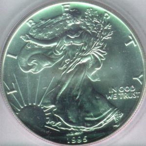 Bullion Silver Coin One Dollar Obverse