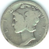 Grading Coins Almost Good Mercury Dime