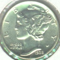 Grading Coins Uncirculated Mercury Dime